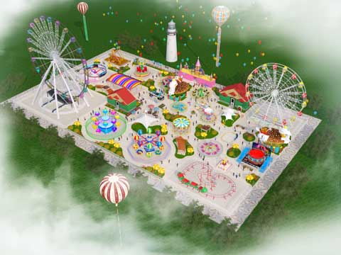 Amusement Park Design for Pakistan Project