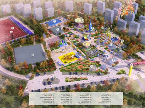 Amusement Park Design for Pakistan -4