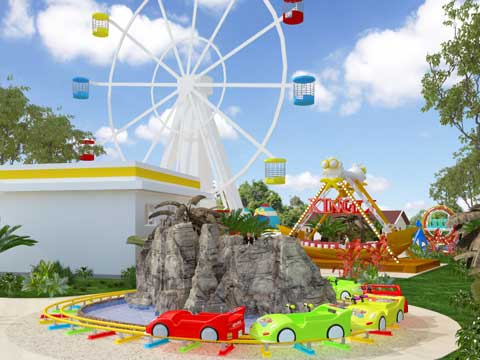 Kiddie Amusement Park Design for Pakistan -2