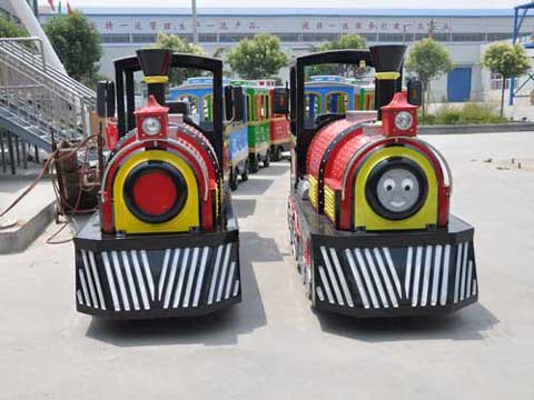 Smile Trackless Train for Pakistan