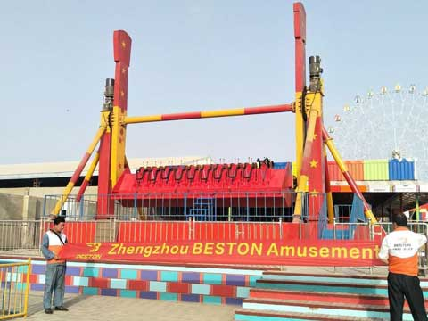 Top Spin Rides for Pakistan Park