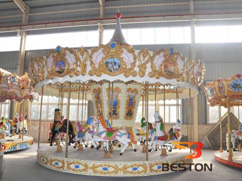 Beston Carousel Rides for Pakistan