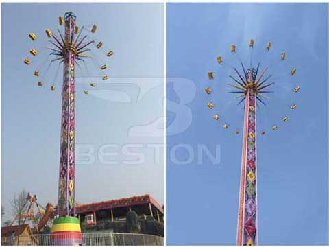 Thrill Swing Tower for Pakistan