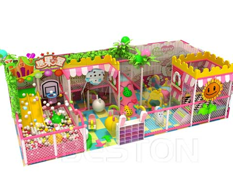 Beston Candy Themed Indoor Playground Equipment for Pakistan