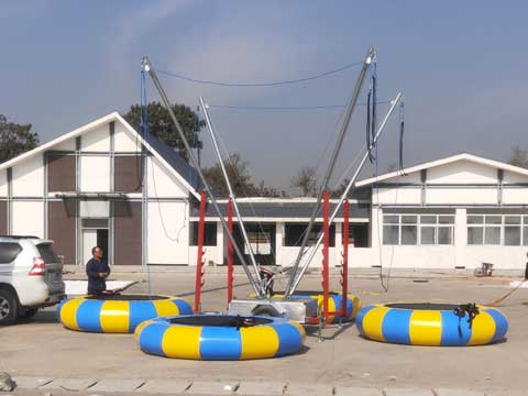 New Bungee Trampoline Rides for Pakistan
